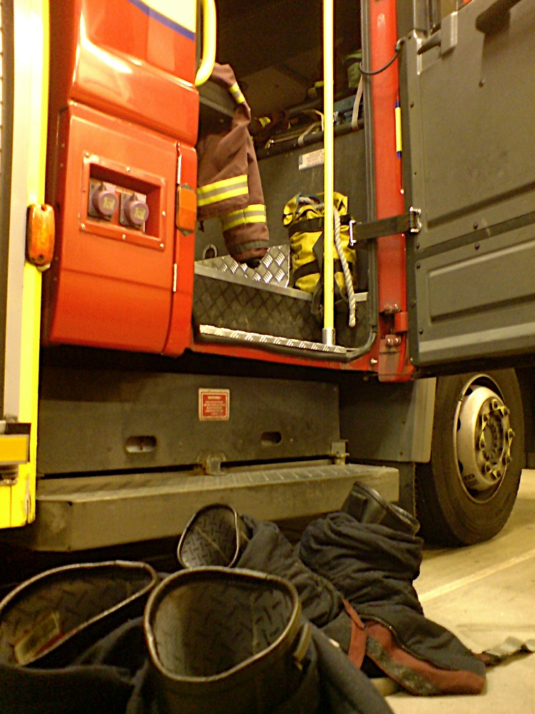 LFB A 27 At station - 01