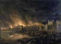 EL gran fuego de Londres 1666