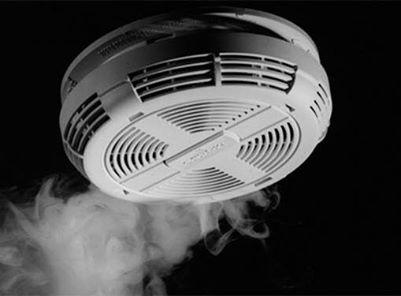 Alarmas de incendio o Detectores de humo