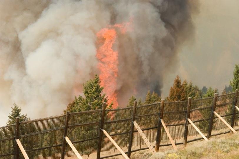 Castle Rock Fire, Ketchum, ID, 2007